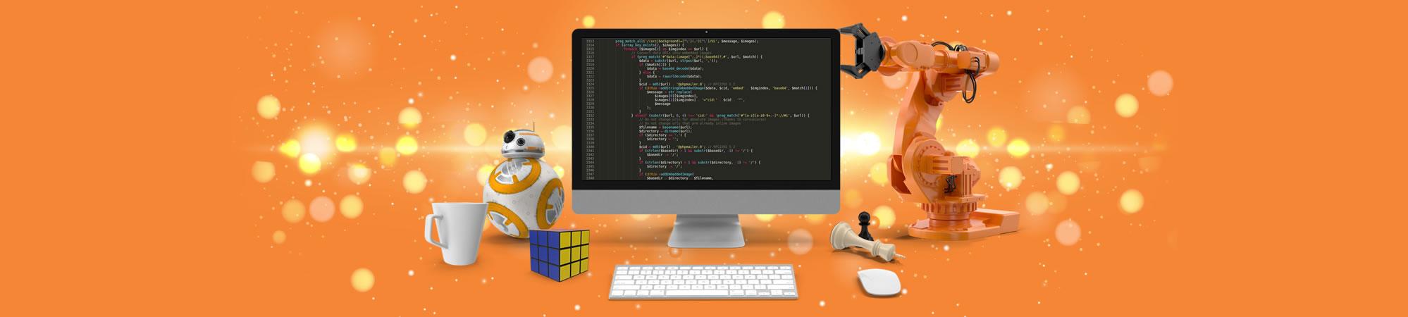 Programação de sites