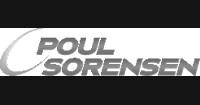Poul Sorensen logo preto e branco