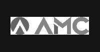AMC logo preto e branco