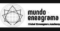 Mundo Eneagrama logo preto e branco