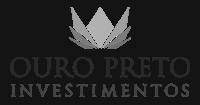 Ouro Preto Investimentos logo preto e branco
