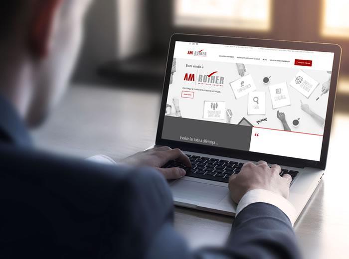 AM Rother lança site institucional desenvolvido pela Factor