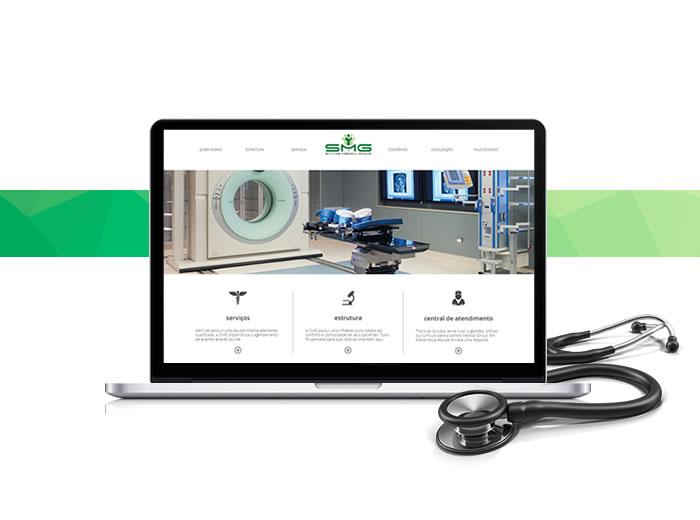 O site da Santos Medical Group está de cara nova